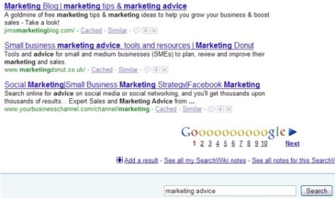 marketing advice