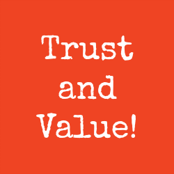 trust, value, promises, testimonials