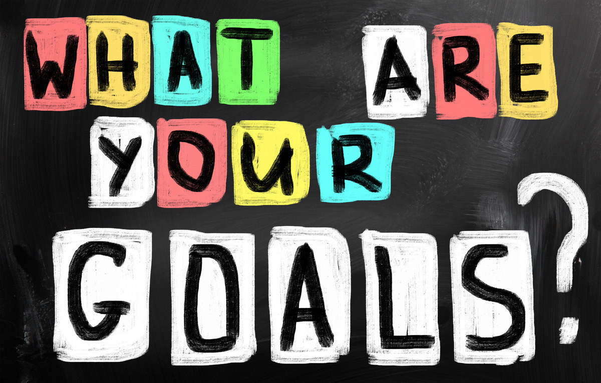 Marketing goals, goal setting