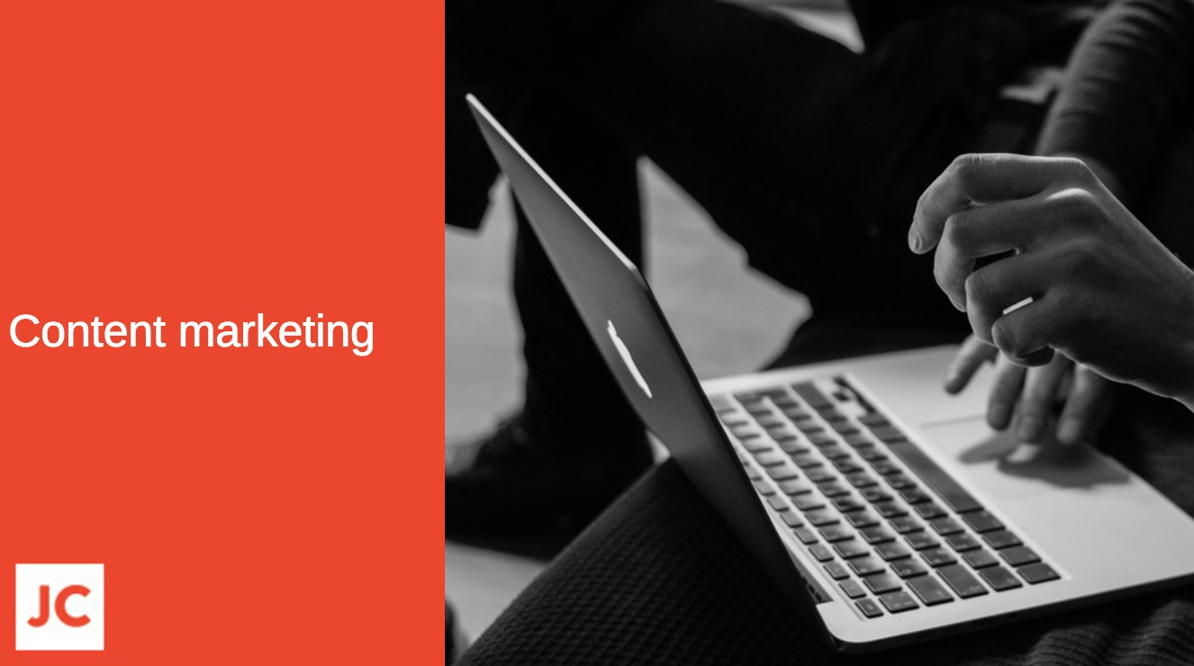 content marketing, list building, blogging