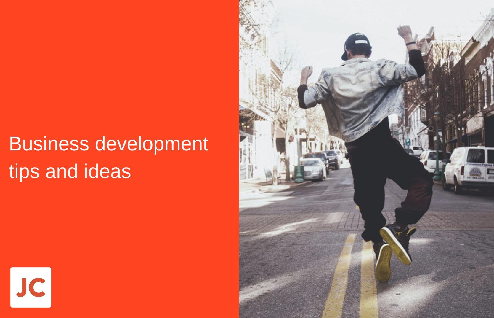 marketing, business development