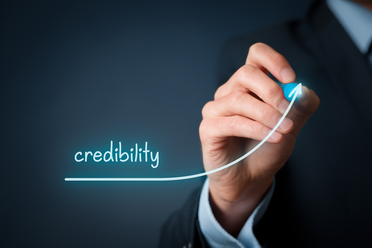 marketing credibility, sales trust