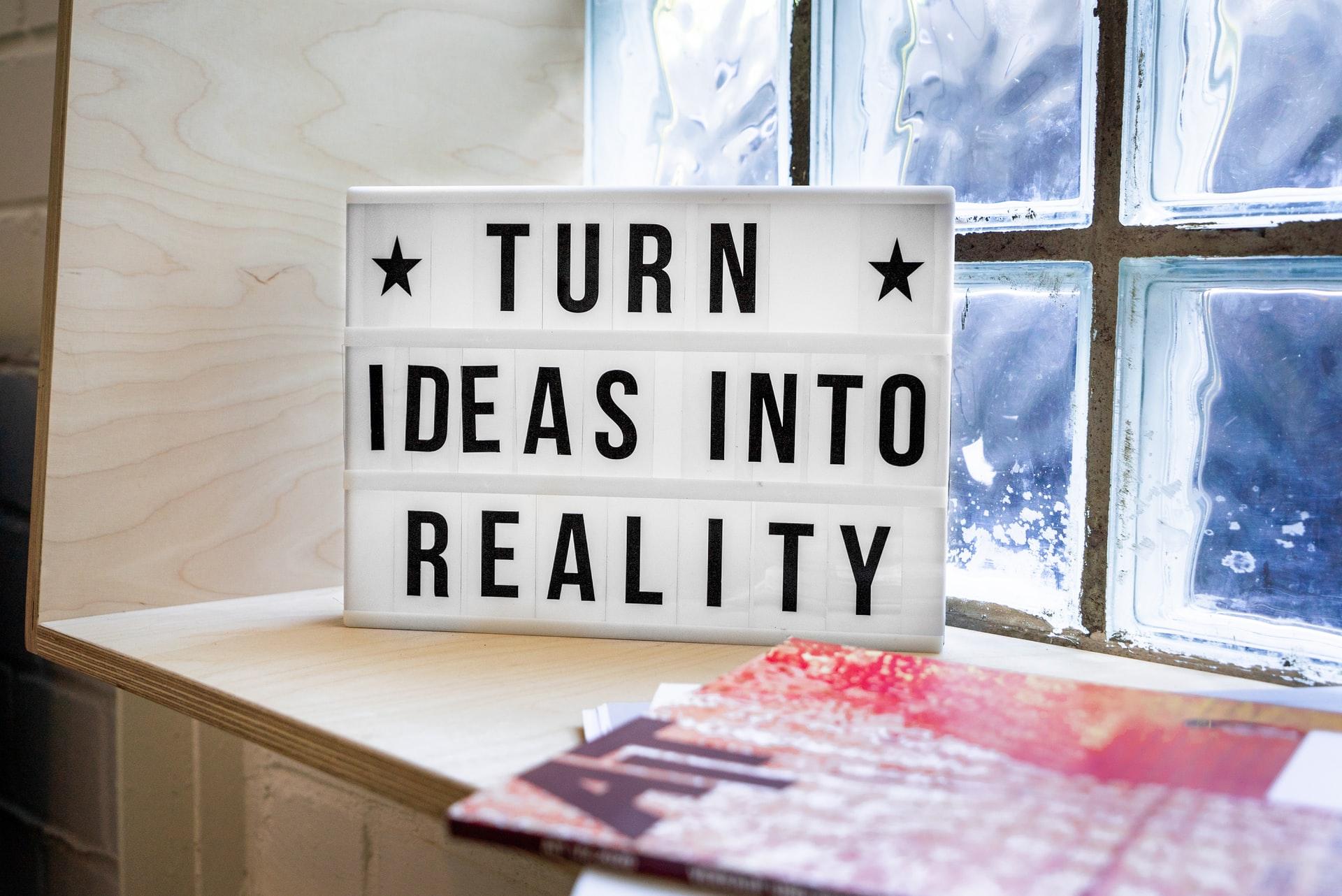 marketing ideas reality