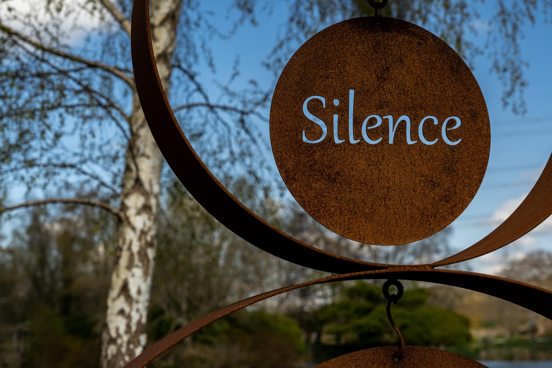 Marketing silence, feedback marketing